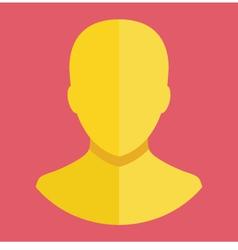 Avatar Profile Account Icon vector image vector image