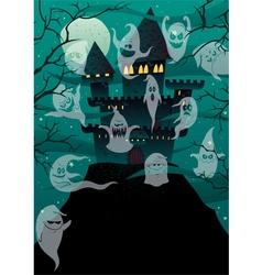 Haunted Castles vector image vector image
