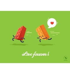 fnny for lovers vector image