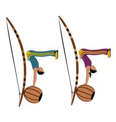 Capoeira vector