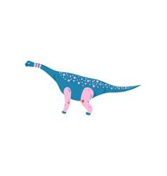 colorful tyrannosaurus dinosaur cute prehistoric vector image
