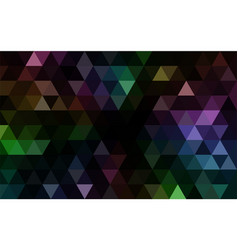 dark mosaic backgground vector image