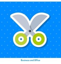 Icon of scissors vector