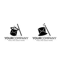 Magic message for design editable vector