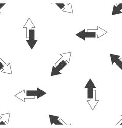 Opposite arrows pattern vector