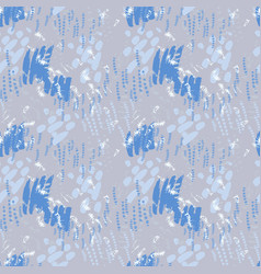 Serenity pattern on striped background vector