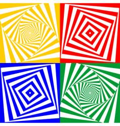 set of geometric elements vector image
