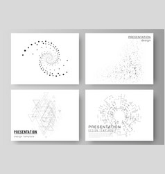 The minimalistic abstract of vector