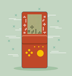 video game console portable gadget vector image