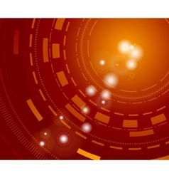 technological background with sparkles vector image vector image