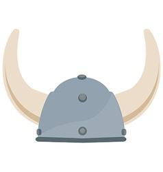 Viking hat vector image vector image