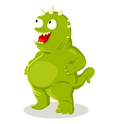 Green Monster vector image vector image