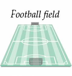 football field vector image vector image