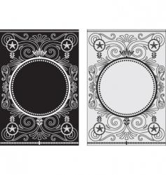 star frames vector image vector image