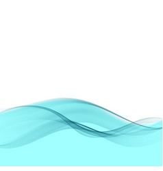 Abstract blue wave background blue wave vector
