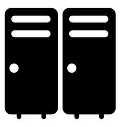 Airport lockers vector