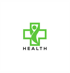 happy health logo vector image