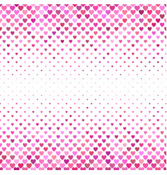 heart pattern background - love concept graphic vector image