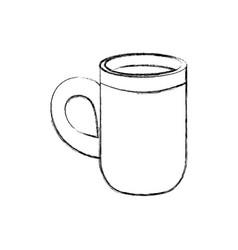 hot chocolate beverage vector image
