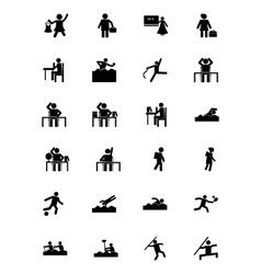 Human Icons 18 vector