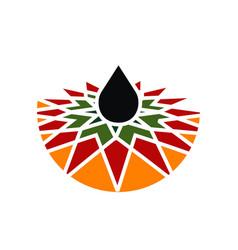 petroleum development company oil vector image