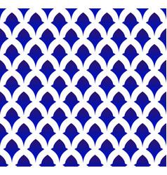 Porcelain ceramic pattern vector