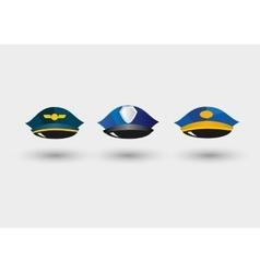 Set of service caps vector