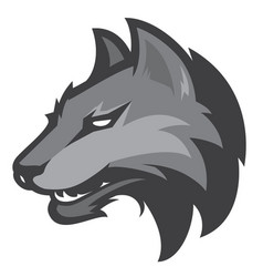 wolf sport logotype vector image