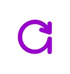 c letter business logo design vector image