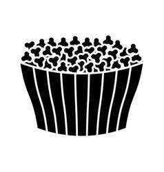ice cream bucket icon vector image vector image