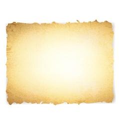 vintage grunge burnt paper vector image