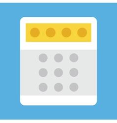 Bank Terminal Icon vector image vector image