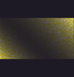 abstract dark luxury golden dotted background vector image
