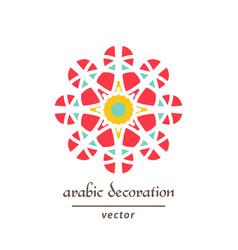 Geometric mosaic ornament vector