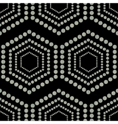 Geometric ornament seamless vector image