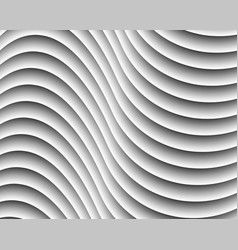 gray abstract wave background vector image