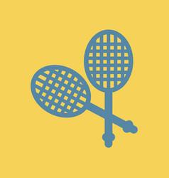 Tennis rocket vector