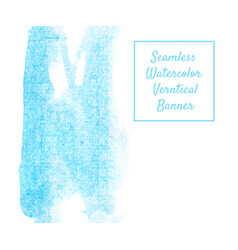 vertical seamless blue vector image
