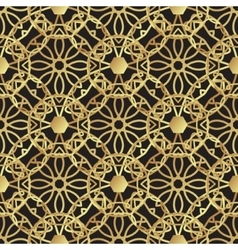 Vintage luxury gold background art deco vector image