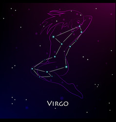 virgo vector image