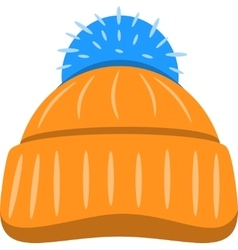 Winter Seasonal Hat Isolated vector