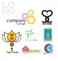 logo and icon vector image