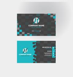 Business card templates design vector