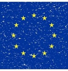EU flag vector