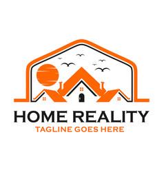 housing sales logo vector image