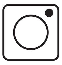 Instagram logo icon vector