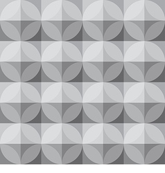 pattern02 grey squareth vector image