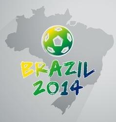 Soccer Brazil Infographic vector image