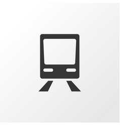 Train icon symbol premium quality isolated vector