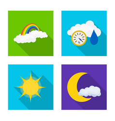 Weather and climate icon vector